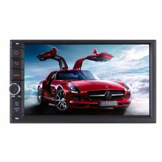 7 Inch Android 5.1.1 Touch Screen Car Radio System For Universal Quad Core HD 1024*600 RAM DDR3 1G Car Multimedia Player