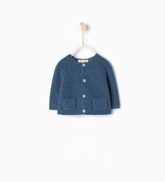 ZARA - ENFANTS - Veste en maille avec poches