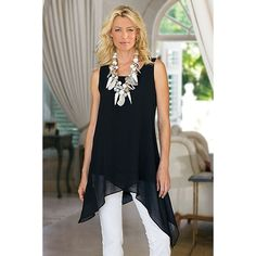 Celine Tunic from Soft Surroundings on Catalog Spree