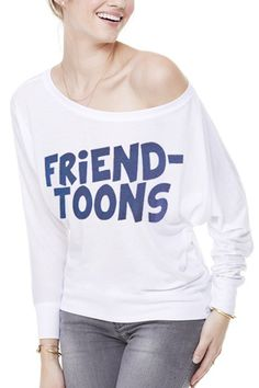 Maglietta manica lunga Friend-toons lady disponibile nel nostro shop online. www.friendtoons.com