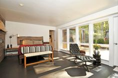 NEWLY RENOVATED EAST HAMPTON CONTEMPORARY #hamptons #bedroom #interior