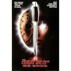 Friday The 13Th Jason Part 7 Horror Movie Poster 24462G Poster Print 24x36 @ niftywarehouse.com #NiftyWarehouse #Horror #Movies #FridayThe13th #Jason