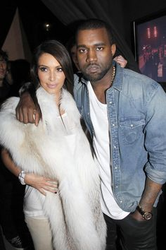 Celebrity Couple: Kim Kardashian (again!) and Kanye West