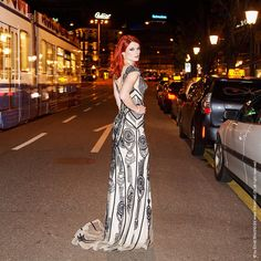 Fashionnightwork Zürich Dress by Diva Boutique Neuhausen Model Csilla Makeupartist Melanie Bachmann
