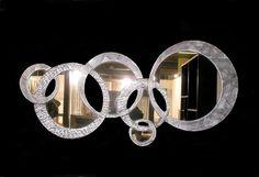 Χειροποίητη δημιουργία σε ξύλο-Δείγμα απ τη μεγαλύτερη γκάμα διακοσμητικών-καθρεφτών στην Ελλάδα. .-Για να δείτε περισσότερα/// www.x-esio.gr Wood Mirror, Diamond Earrings, Wedding Rings, Engagement Rings, Modern Mirrors, Handmade, Jewelry, Enagement Rings, Hand Made