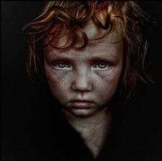 British photographer Lee Jeffries' photos of the homeless are beautiful and sad.