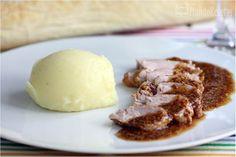 Solomillos de cerdo con vermut y mostaza
