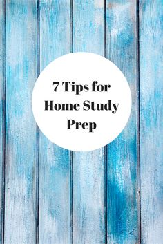 Ready for your adoption home study? Use our 7 tips to prepare yourself for the home visit.