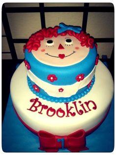 Raggedy Ann — Children's Birthday Cakes