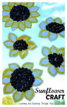 Sunflower Summer Craft - Learning and Exploring Through Play