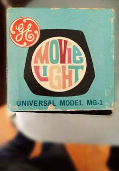 EG Movie Light, Beautiful lettering of yesteryear