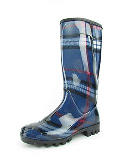 Stylish Womens Rain Boots Women's Water Shoess High Leg With Cute Pattern Tyc029 ** Read more reviews of the product by visiting the link on the image.