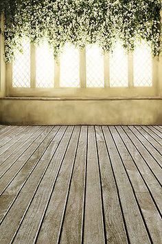 Wedding Studio Photography Backgrounds Props 5X7ft Vinyl Backdrops Flowers Floor