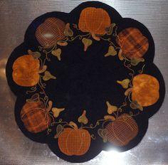 Pumpkin Table Mat