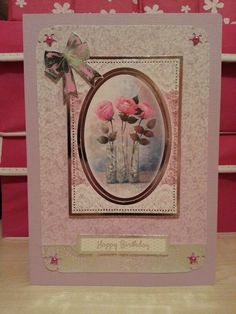 Lace in bloom card