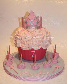 Princess Giant Cupcake, via Flickr.