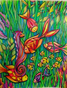 Design from Dreamscapes Coloring Book