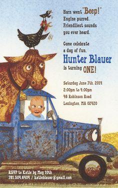 Little Blue Truck Birthday | Katie Blauer