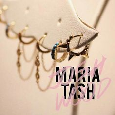 Maria Tash piercing pop up in Josh Wood Atelier
