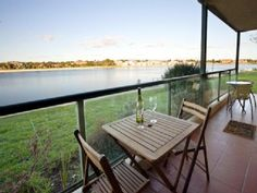 Lake Retreat-Vacation Rental in Tennyson from Outdoor Tables, Outdoor Decor, Holiday Accommodation, Holiday Apartments, Home And Away, Outdoor Furniture, Vacation, House, Travel