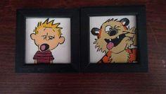 Boy's Room Calvin & Hobbes Decor