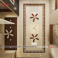 Modern Living Room Interior Designed by Nakshewala.com