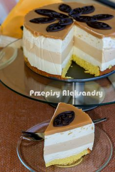 SERNIK KAJMAKOWO-CZEKOLADOWY;;;Polish cheese cake   - Explore the World with Travel Nerd Nici, one Country at a Time. http://TravelNerdNici.com