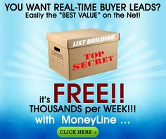 This opportunity has been added to the page FTWM Phase-1 I am inviting You Now, to Join for FREE, the World's Largest Straight One-Line of People like I did. Just CLICK these links for more information : moneyline moneyline video... Continue Reading →