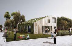 arcgency: WFH shipping container house, wuxi, china  More details