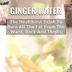 You'll need:  a few thin slices of ginger root 1.5l. water Lemon juice (if you want)