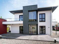 Musterhaus modern walmdach  Stadtvilla SH 125 S • Stadtvilla von ScanHaus Marlow • Modernes ...