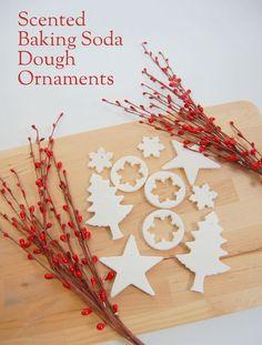 DIY Baking Soda Dough Ornaments