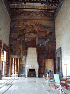 Oslo,Norway City Hall...wall paintings