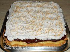 Fotorecept: Čokoládovo-vanilkový nepečený dezert