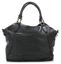wardow.com - #Liebeskind, Vintage Paulette Shopper Leder schwarz 47 cm