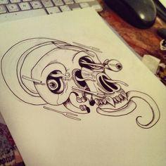 Skull 03