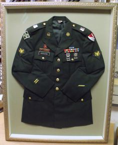 Military Uniform Framing & Considering this after I retire in May 2014. Frame of Honor ... Aboutintivar.Com