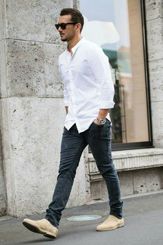 How To Wear Casual Shirt For Men, Casual Street Style Men – LIFESTYLE BY PS