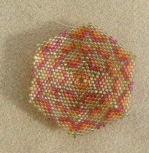 beaded boxes patterns   Beaded Box
