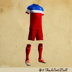 Battle gear ready. Check out our soldiers' uniform.  Are you ready? GO TEAM USA U.S. Soccer (via ussoccer.com)