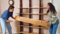 Bookshelves in a Day - FineWoodworking