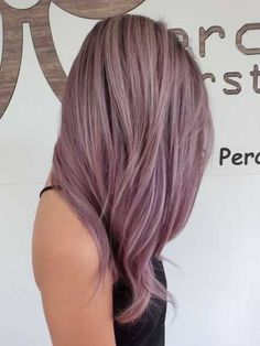 11 Reasons Why Mauve is the Hottest Hair Colour This Year Chocolate Mauve Hair, Bilage Hair, Emo Hair, Hot Hair Colors, Hair Colour, Rides Front, Corte Y Color, Grunge Hair, Purple Hair