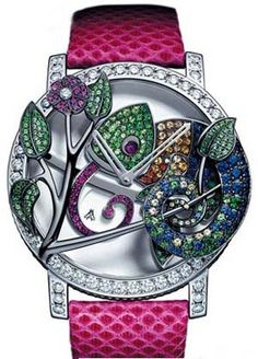 "Boucheron ""Seconde Folle"" Ronde Watch Chameleon"