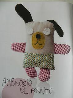 Ziztatu : Más patrones para muñecos de tela