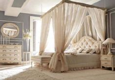 This One Has A Modern Canopy Bed Frame That I Would Actually Like! 25  Glamorous Canopy Beds For Romantic And Modern Bedroom Decorating