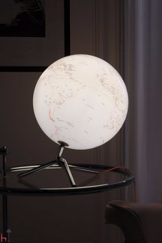 Nodo by Atmosphere is a globe with light.