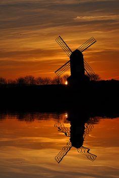 Pitstone Windmill in Ivinghoe ~ Buckinghamshire, England