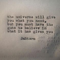 What you need #universe #jmstorm #jmstormquotes #instagood #quotes…