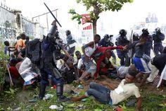 20161118 Ce qui s'est passé hier entre les policiers et partisans de l'UDPS à Limete