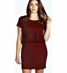 boohoo Chantal Double Layer Lace Trim Dress - wine Look to this double layer dress as your new season way to wear the LBD on nights out. Style it with skyscraper heels , a colour pop clutch and quirky arm cuff . http://www.comparestoreprices.co.uk/dresses/boohoo-chantal-double-layer-lace-trim-dress--wine.asp